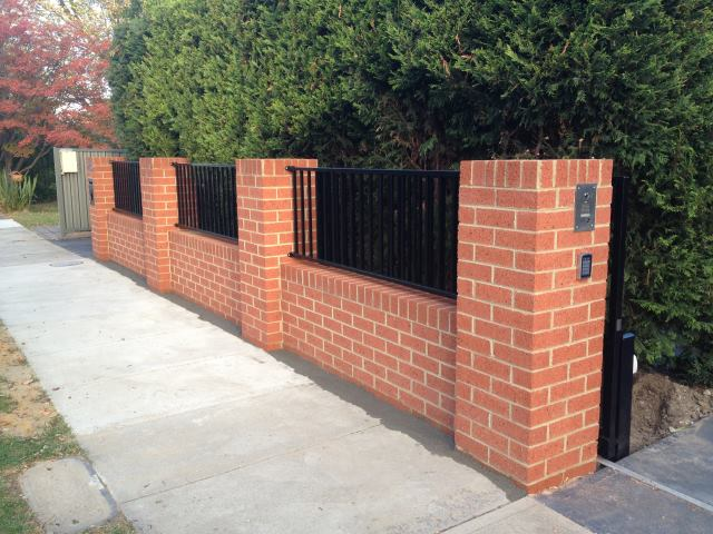 Brick Fences Mako Fencing Gates