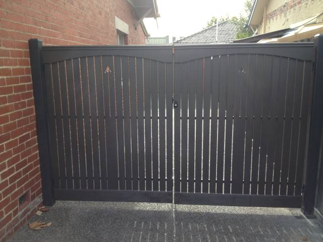 Picket Fence Double Gate