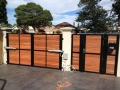 Mako-Fencing-Karri-Merbau-Powder-COat-Steal-Automated-Double-Gate-Full-Shot