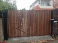 Mako-Fencing-Stake-Cedar-Automated-Double-Swing-Gate