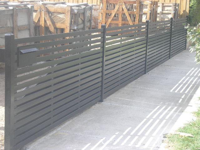 Slat Fences - Mako Fencing & Gates