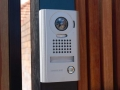 mako-fencing-and-gates-intercom-on-fence-post