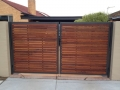 Mako-Fencing-Merbau-Slat-Powdercoated-Steel-Frame-Gate
